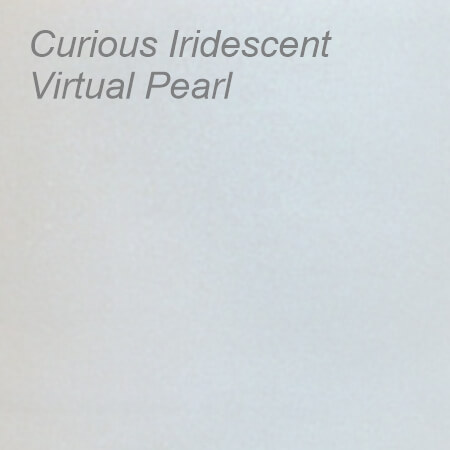 Curious Iridescent Virtual Pearl