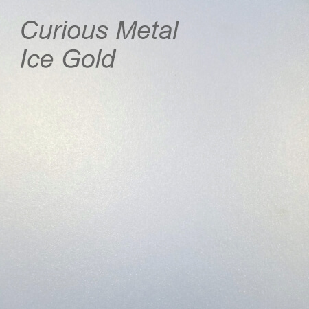Curious Metal Ice Gold