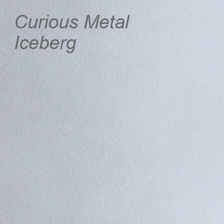 Curious Metal Iceberg