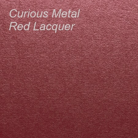 Curious Metal Red Lacquer