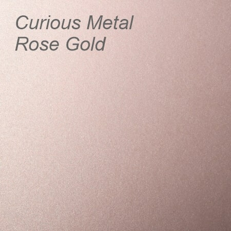 Curious Metal Rose Gold