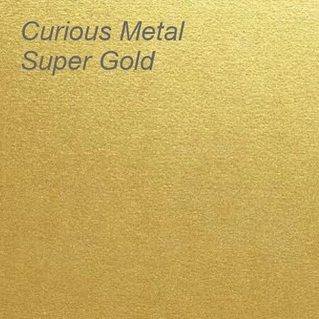 Curious Metal Super Gold