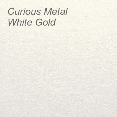 Curious Metal White Gold