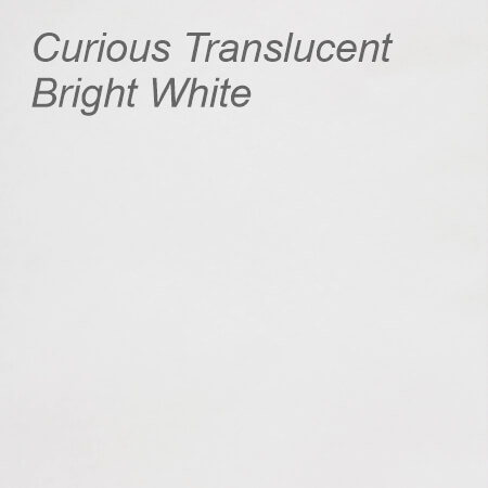 Curious Translucent Bright White