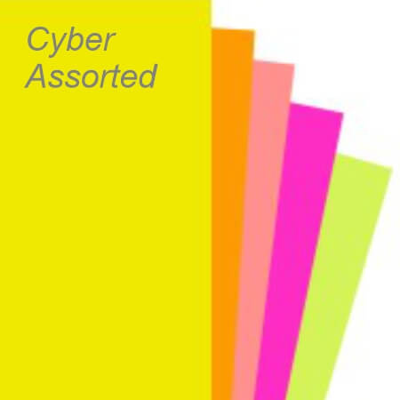 Cyber Assorted Mixed Paper Swatch