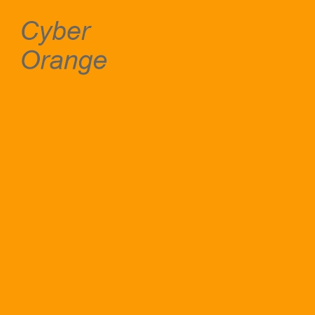 Cyber Orange Colour Swatch