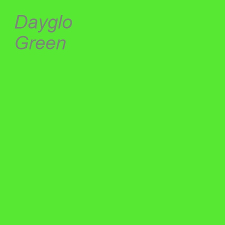 Dayglo Green Colour Swatch