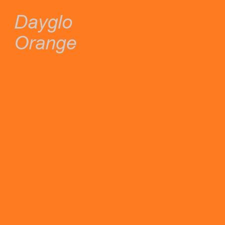 Dayglo Orange Colour Swatch