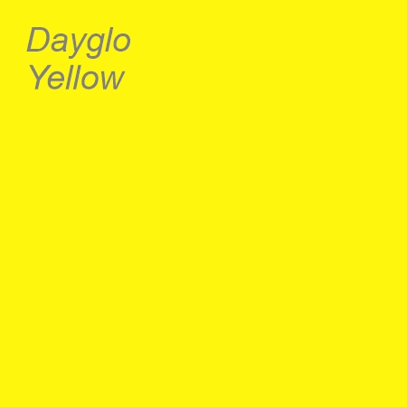 Dayglo Yellow Colour Swatch