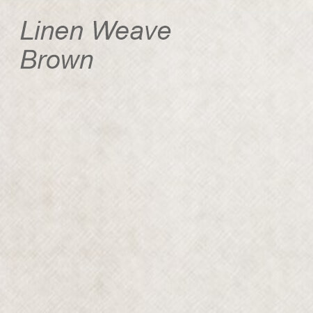 Linen Weave Brown Colour Swatch