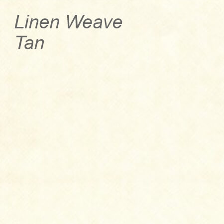 Linen Weave Tan Colour Swatch