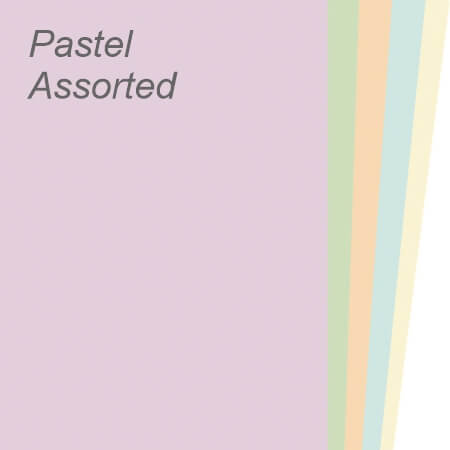 Pastel Assorted Paper & Board Range