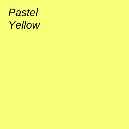 Pastel Yellow Paper & Board Range