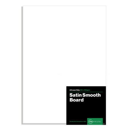 Satin Smooth A3 Board