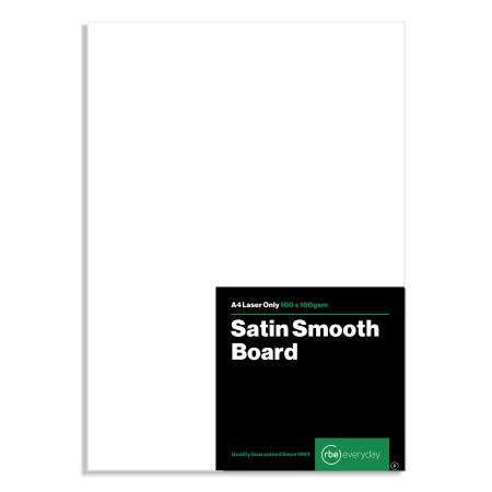 Satin Smooth A4 Board