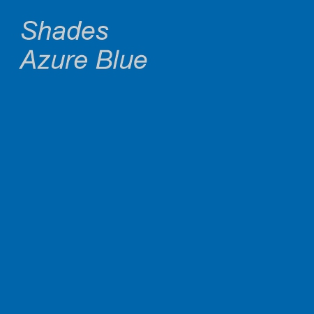 Shades Azure Blue Colour Swatch