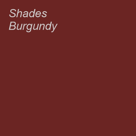 Shades Burgundy Colour Swatch
