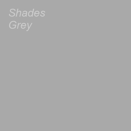 Shades Grey Colour Swatch