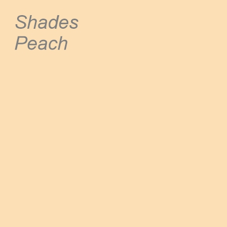 Shades Peach Colour Swatch