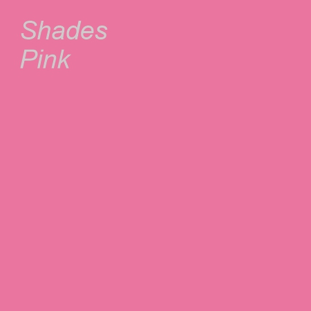Shades Pink Colour Swatch