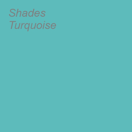 Shades Turquoise Colour Swatch