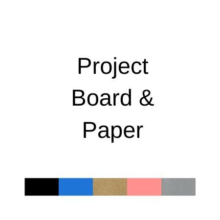 Project Board & Paper