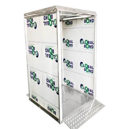 LIV Sanitation Booth