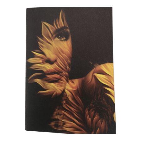 Floral Fantasy Notebook - Cream
