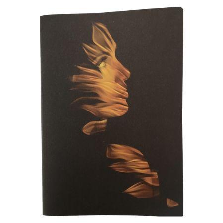 Floral Fantasy Notebook - Dark