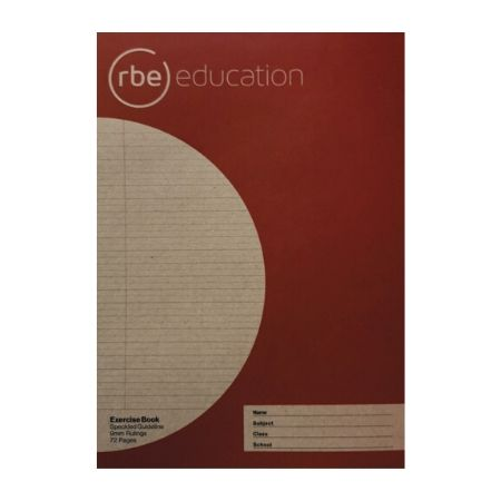 Speckled Guideline 9mm 72 Page A4 Exercise Book