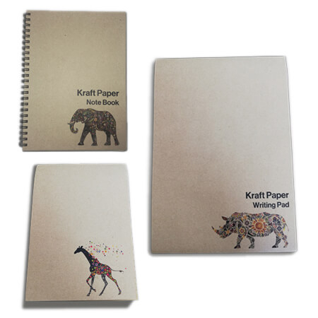Kraft Lined Notepads & Notebook - Category
