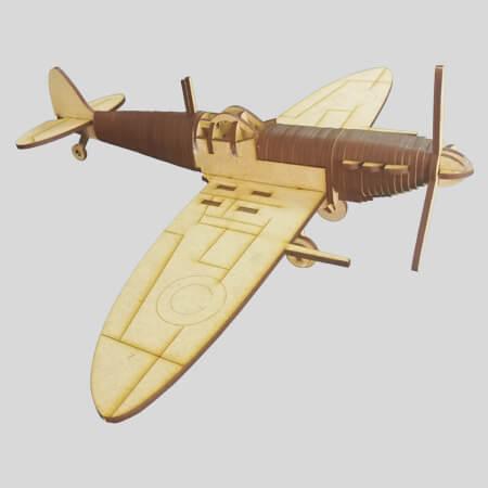 Supermarine Spitfire - 3D Laser Model