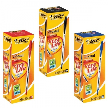 BIC Crystal Category Button