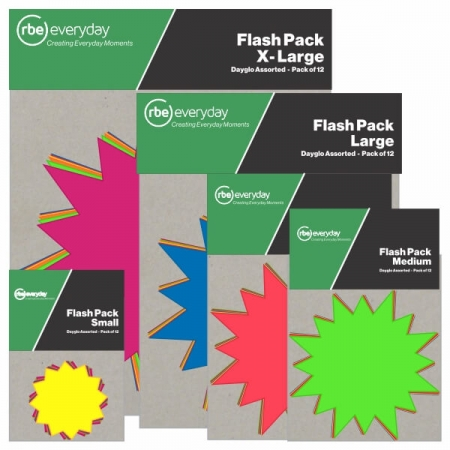 Flash Packs in Various Sizes
