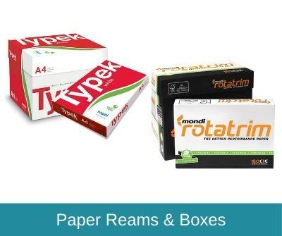 Paper Reams & Boxes