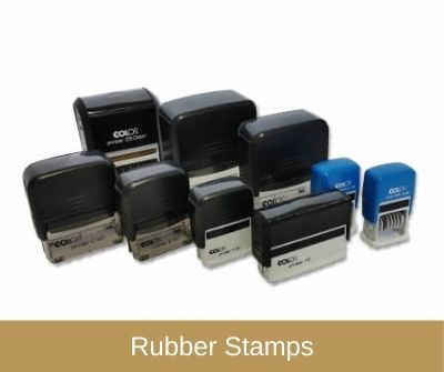 Rubber Stamps & Pads