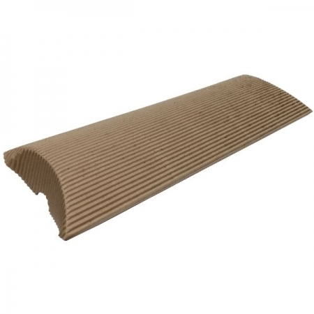 Extra Large Fluted Kraft Pillow Style Gift Box