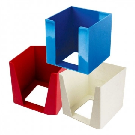 Desk Cube Holders Assorted Colours